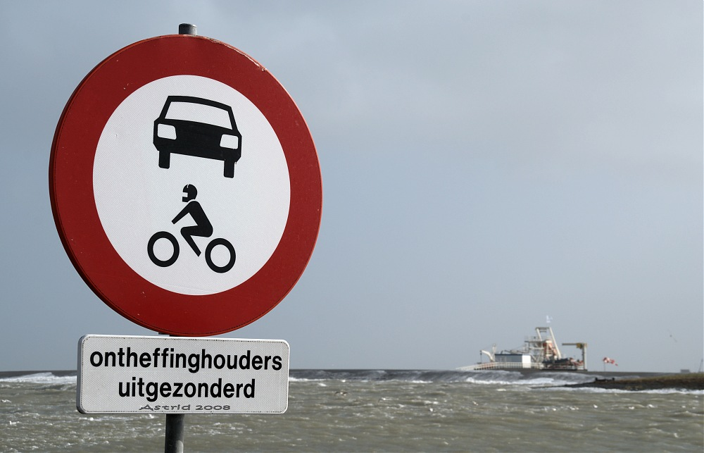 photoblog image ....but...but...Texel is an island without bridge....