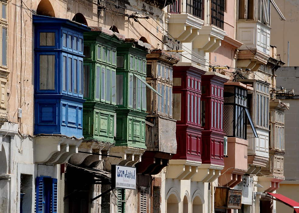 photoblog image ....Maltese Balconies..... one of many