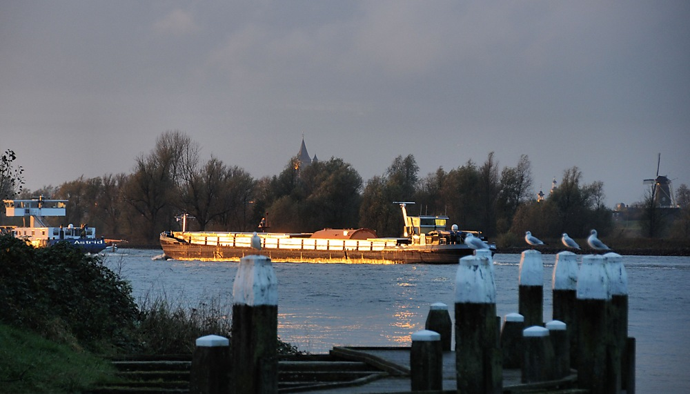 photoblog image .... The Golden Hour Boat Friday....